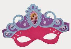 Rapunzel Free Printable Masks.