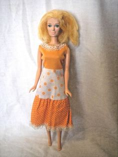 Mego Tangerine Candi Fashion Doll 1977 in original outfit HTF #Mego #DollswithClothingAccessories