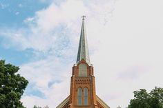 St. Joseph Catholic Church in Dexter, MI -  Wedding by Nicole Haley Photography
