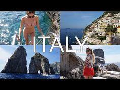 Positano, Capri, Amalfi Coast & Ravello | Italy Travel Vlog - YouTube