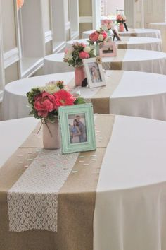 Image result for how to decorate cocktail tables for a wedding burgundy, blush and green