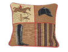 Needlepoint Polo Pillow