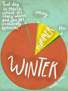 The (horrible) truth about the seasons.