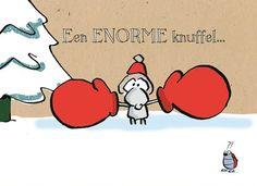 Een enorme knuffel voor jou deze kerst! #Hallmark #HallmarkNL #kerstkaart