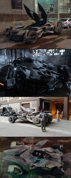 New Batmobile Revealed in Spy Shots, Looks Unlike Any Other Movie Vehicle