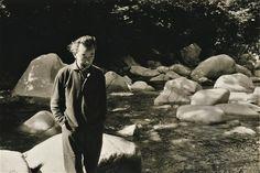 山本悍右像 1970年代前半 Portrait of Kansuke Yamamoto, early 1970s.