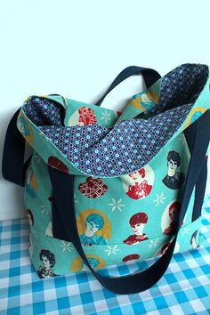 My Other Bag, Diy Flower Crown, Face Painting Designs, Bag Patterns To Sew, Cotton Bag, Bag Making, Diaper Bag, Sewing Projects, Birthday Crowns