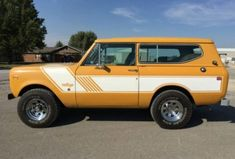 Learn more about Restored 1976 International Scout II Rallye… on Bring a Trailer, the home of the best vintage and classic cars online. International Scout Ii, International Harvester Truck, Panel Truck, Ford Bronco, Classic Cars Online, Cool Trucks, Restoration, Vehicles, Broncos