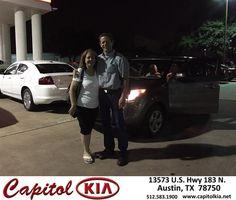 https://flic.kr/p/KKxETc | #HappyBirthday to Mr. & Mrs.  from Ivan Rodriguez at Capitol Kia! | deliverymaxx.com/DealerReviews.aspx?DealerCode=RXQC