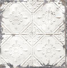 Dutch Reclaimed 22305 metaal tegels wit