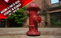 Making a Photo-Real Hydrant in Blender: Part 1 Modelling