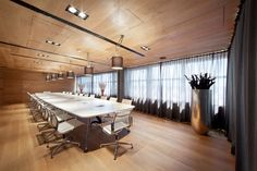 KKCG's Prague Office Interior Meeting Room Design