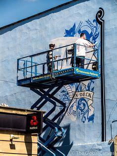 Inkie at Upfest '13 in Bristol, UK #Inkie #Graffiti #StreetArt #Upfest #Bristol #UK #England