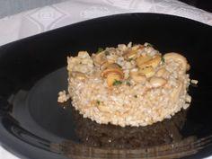 Cocinando con Montse: Arroz integral con champiñones