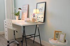 Office Desk, Furniture, Home Decor, Homemade Home Decor, Desk, Home Furnishings, Decoration Home, Arredamento, Interior Decorating