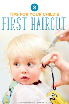 8 tips for your child's first haircut at a salon. Learn how to make the experience fun and stress-free. Try these tips before your child gets his first haircut. - Life and hacks Baby Boy First Haircut, Baby Girl Haircuts, Toddler Haircuts, First Baby, Haircuts For Toddlers, Child Haircut Girl, Toddler Haircut Boy, Toddler Activities, Toddler Fun