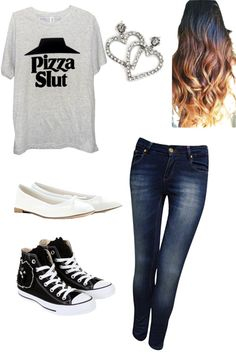 """pizza s lut"" by h-clark ❤ liked on Polyvore"