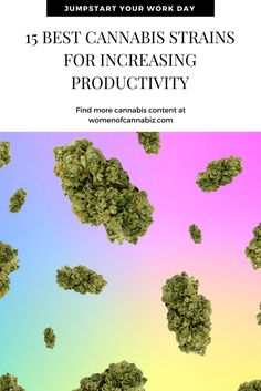 Running a cannabis business is difficult. Actually, let's be real here, it's extremely difficult. The key to reducing burnout is spending your time wisely.  Cannabis can be a powerful tool for boosting productivity, here are 15 cannabis strains to maximize your workflow. http://www.womenofcannabiz.com/cannabis-business-education/15-best-cannabis-strains-for-increasing-productivity