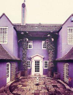 Purple Home's Court Yard.