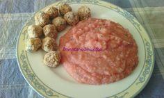 Purè di patate e carote rosse