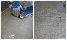 Concrete Leaf Yard Art Tutorial | So You Think You're CraftySo You Think You're Crafty