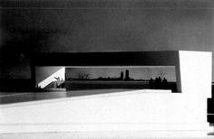 """Proposal for a square on Battery Park Manhattan Island, New York City, USA; 1995 Francesco Venezia Taken from """"Francesco Venezia: L'architettura, gli scritti, la critica"""", Electa, Milano (1998)"""