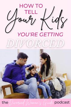 After you have made a decision to get a divorce, you need to have a conversation with your children about divorce. Read my advice for telling your kids you are getting a divorce and how to handle that delicate conversation. Making sure you handle it the right way is critical for your child's sense of safety and security amid the changes and the new family dynamic. Divorce and Kids   Divorce Advice Change Is Hard, Tough Love, Step Parenting, Single Parenting, Kids Questions, Divorce With Kids, Kids Sand, Getting Divorced, Brutally Honest