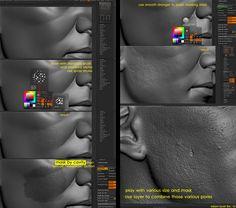 page #3d #sculpting #tutorials
