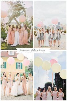 Bridesmaid Balloon Photos
