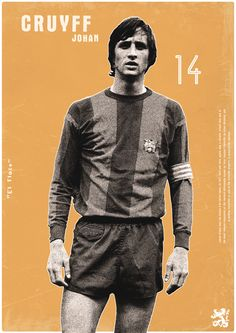 ●  Football Legends by Dylan Giala, via Behance