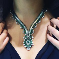 Van Cleef and Arpels. Via Prima J. (@prima_j828) on Instagram: The iconic Zip necklace. #vancleefarpels #vcateam