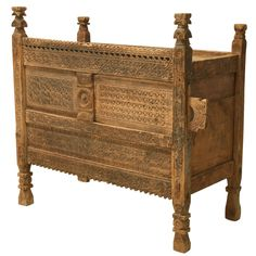 Swat Chest from the Swat Valley of Pakistan | From a unique collection of antique and modern furniture at https://www.1stdibs.com/furniture/asian-art-furniture/furniture/