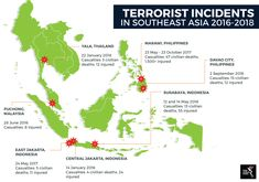 Terrorrist Incidents in Southeast Asia