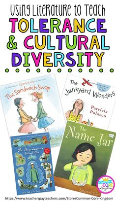 Are you looking for a way to teach your elementary students about tolerance and cultural diversity? This blog post has book suggestions to address this important topic with your class.