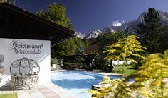 Spielmann's Schwimmbad  im Sommer geöffnet und mit Solarenergie beheizt Solar, Outdoor Decor, Zugspitze, Lawn And Garden, Pictures