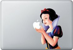 Snow White iPad/Mac Decal - I need this