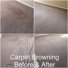 Carpet browning