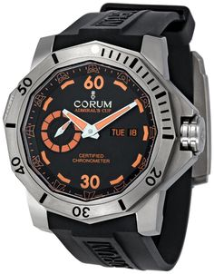 Corum Admirals Cup Deep Dive Automatic Black Dial Mens Watch 947950040371AN15 $4,840