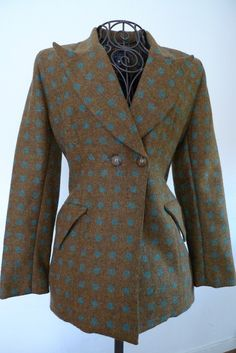 Vintage wool tweed jacket