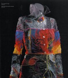 Ensemble designed by Yoshiki Hishinuma, 1997. Courtesy Gemeentemuseum den Haag, all rights reserved.
