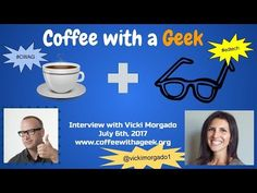 Coffee with a Geek Interview with Vickie Morgado