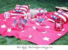 4th of July Picnic Ideas | @kimbyers
