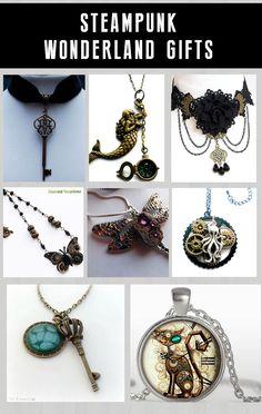 Shop steampunk goth gifts at RebelsMarket.
