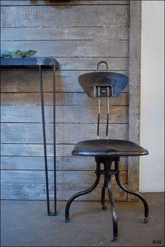 Paris shop......industrial vintage chair