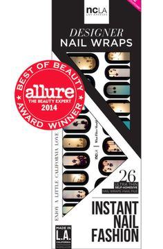 Do your nails instantly! No heat lamp, no drying time and no waiting required!   #instagram #NYLONshop #nailwraps