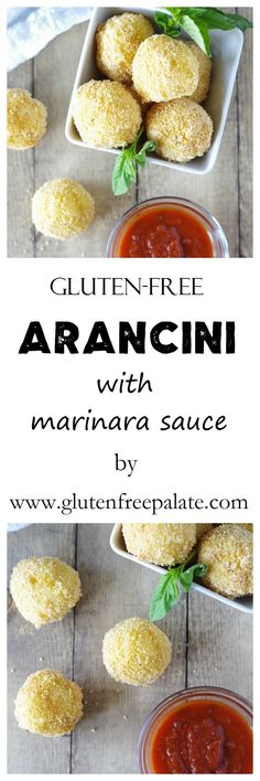 Eat them plain, or dip them in marinara sauce, either way these Gluten-Free Arancini are scrumptious. via @gfpalate