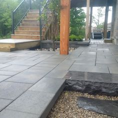 Another angle of the finished Platinum Stone Design job.