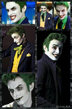 Well the joke is on you Anthony Misiano as the Joker {he nailed the joker like goodness} Dc Cosplay, Comic Con Cosplay, Joker Cosplay, Best Cosplay, Cosplay Costumes, Awesome Cosplay, Anthony Misiano, Personnage Dc Comics, Javier Marin