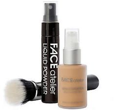 Atelier Face FACE The Flawless Face Foundation Setwith Brush