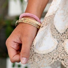 Faith bangles I Quote bracelets I Altar'd State
